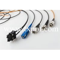 ST/SMA/SC/FC Optical Fiber Patchcords PMMA Core For Industrial Control and Automation