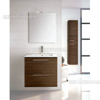 Solid wood bathroom vanities Europe bathroom furniture