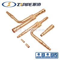 Y Joint Kits Copper Branch Pipe for Haier