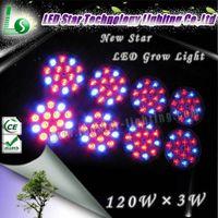 hydroponic  indoor garden led grow light wholesale---360w(120x3w)--------500x285x85 mm