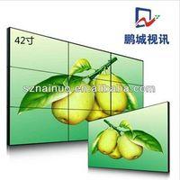 "SAMSUNG / LG 46"" 700cd/M2 Ultra-slim Bezel LCD Seamless LCD Video Display Wall"