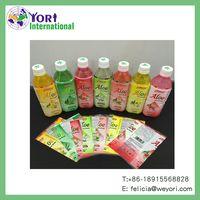 YORI good price soft drink label pet heat shrink sleeve label thumbnail image