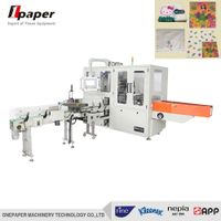 China manufacturing napkin paper processing machine and facial tissue paper wrapping machine price