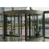 double wing automatic revolving door thumbnail image