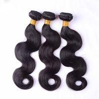 Unprocessed virgin Brazilian hair extensions, hair weaves