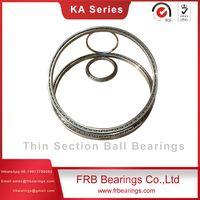 Stainless steel slim bearings-Four-point contact ball bearings SAA Series