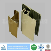 powder coated aluminium extrusion for windows