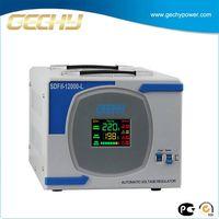 10kw voltage stabilizator servo motor ac avr, portable voltage regulator SDFII-12000-L