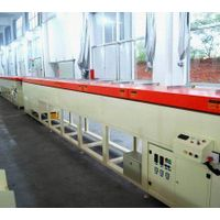 Rubber extruding microwave vulcanizing line