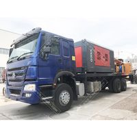 CSD200A Truck Mounted Water Well Drilling Rig with Air Compressor