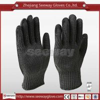 SeeWay B517 Steel Wire Cut Resistant Mining Gloves Security Using
