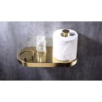 Oem Polished Brass Toilet Paper Holder thumbnail image