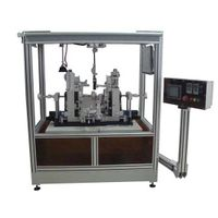 Quadrupolar Fiber Coil Winding Station