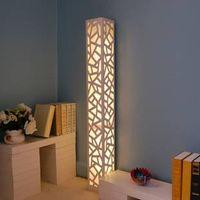 Moder Floor Lamp Engraving Flower Floor Lighting Beautiful Bedroom Light Romantic Hotel Room Light w