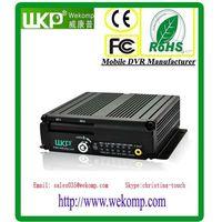 3G 4CH Dual SD Card Mobile DVR H.264 Anti-vibration DVR Vehicle Video Surveillance