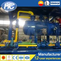 Oil petroleum skid-mounted oil gas water test separator/ 3 phase separator in oilfied or gas field