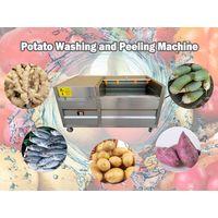 commercial potato washing and peeling machine thumbnail image