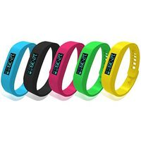 Fashionable bracelet smart watch pedometer sillicone bluetooth bracelet
