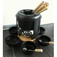 cast iron cookware fondue pots