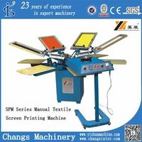 SPM manual screen printing machine