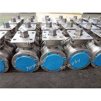 600LB Flanged Titanium Alloy Float Ball Valves
