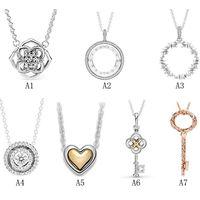 Wholesale Ladies Pendant 925 Serling Silver Necklaces thumbnail image
