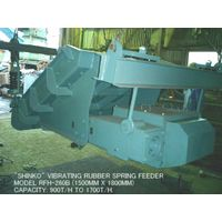 """USED """"SHINKO"""" MODEL RFH-260B VIBRATING RUBBER SPRING FEEDER (1500MM X 1800MM) WITH 5.5KW MOTOR. thumbnail image"""