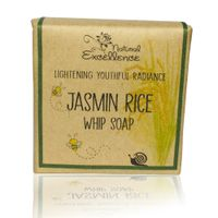 Natural Excellence Jasmin RiceWhip Soap Bar Bubble Foam 110G Packaging Natural Paper Bubble Bag thumbnail image