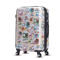 Fashion printing hard shell luggage