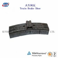 Railway Composite Material Brake Shoe And Block /Train Brake Block