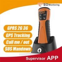 GPS GPRS 125KHZ guard patrol system with mandown&call&SOS