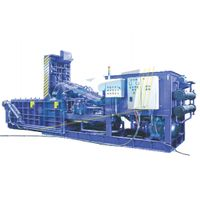 Hydraulic Double Compression Scrap Baling Press thumbnail image
