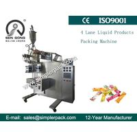 Automatic Four Lanes Liquid Jelly Packaging Machine thumbnail image