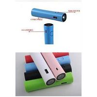 power supply 2600mAh flshlight Battery Power Bank portable charger for cellphone, mp3,mp4, laptop, c thumbnail image