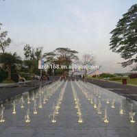 Dry fountain in Malaysia Fuli real estate project