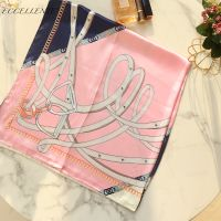 2021 High-End Gharry Printed Silk Small Square Towel Can Be Used in Spring, Autumn and Winter