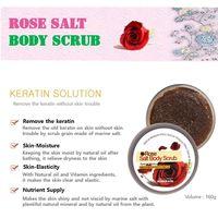 HOMEROSE Rose Salt Body Scrub thumbnail image