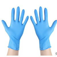 Surgical Glove Blue Disposable Nitrile Gloves Powder Free Medical Gloves thumbnail image
