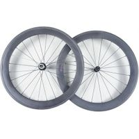 road bicycle full carbon wheel tubular 60mm 700c