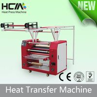 HCM the populatr high quality ribbon roller heat printing machine with CE certifications