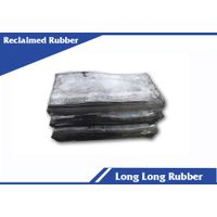 Reclaimed rubber for shoe sole production