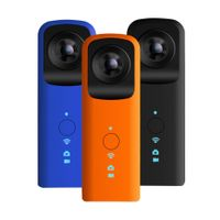 360 Degree Panoramic Mini WIFI Camera VR Action Camera Dual Lens Fish-eye Video Sports Cam HD Vedio