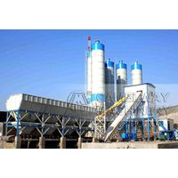 HZS 90 concrete batching plant