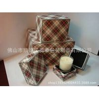 Supply candle packaging tubes