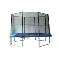 10' x 7' Rectangle Backyard Trampoline Safety Enclosure Net Kit