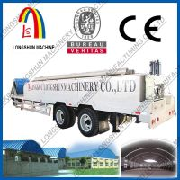 Arch roof steel building roof sheets roll forming machine