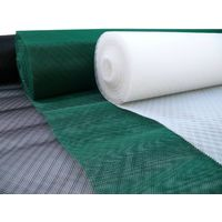 Hdpe extruded colored window door diamond screen mesh netting