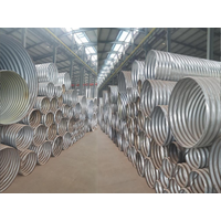 Rolled corrugated metal pipe  Rolled corrugated metal pipe  corrugated metal culvert pipe Suppliers