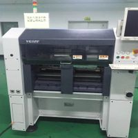 Yamaha YG12F pick and place machine SMD chip shooter with tray stacker for sale thumbnail image