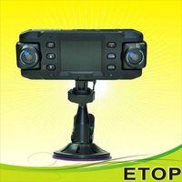 x8000 dual lens HD car camera with GPS